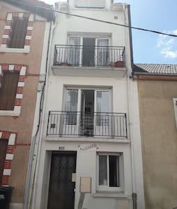 Appartement 1er étage lumineux et calme