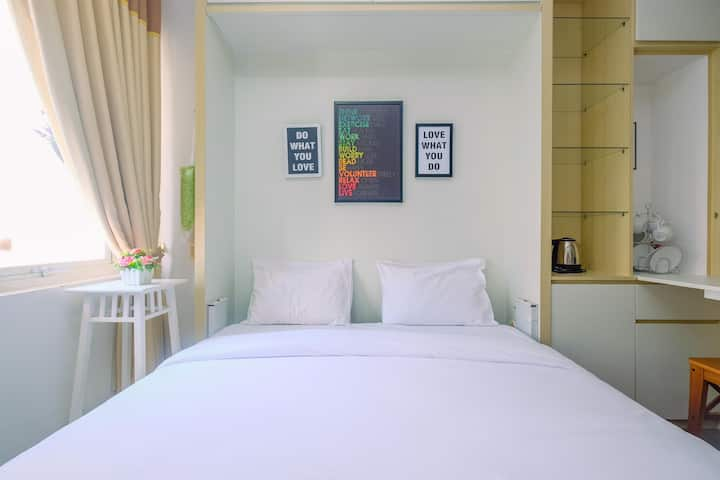 New Furnished Studio at Sentul Tower Apartment