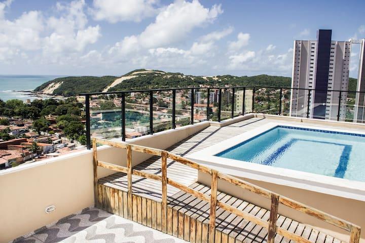 Apartamento Ponta Negra - Natal RN - Natal - Flat