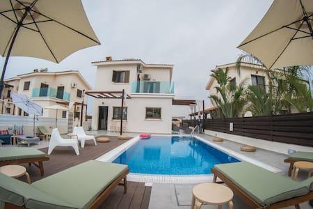 Villa Elena⛱50 mtrs from beach⛱Near to Nissi Beach