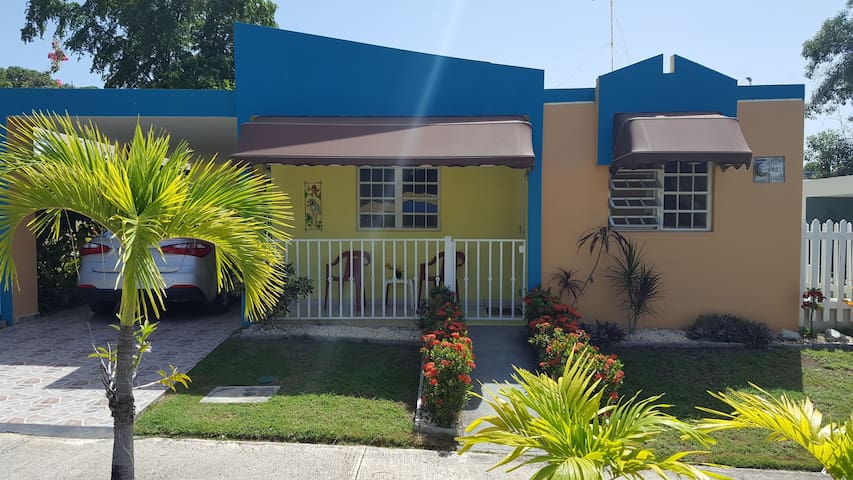 Cozy home in quiet Rincon, PR neighborhood