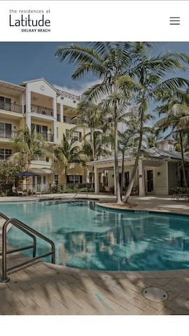 Luxury Condo-East Delray- Walkout to pool!