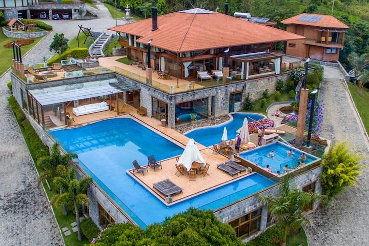 Casa de alto padrão com ecoturismo (All Inclusive)