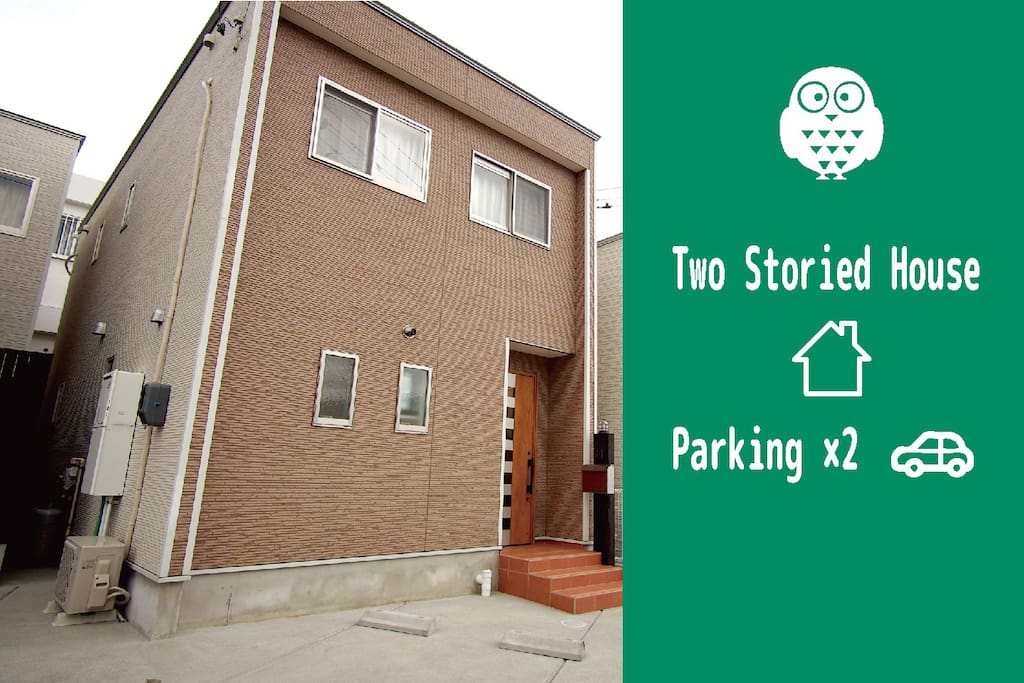 Two storied house. free parkinng space for two cars