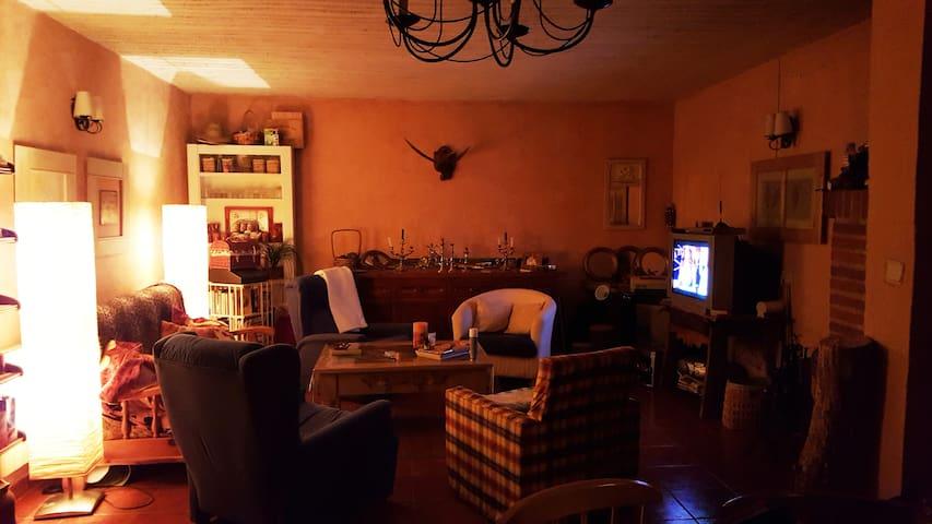 Casa con Chimenea en Segovia con Cordero Asado - Lastras de Cuéllar - 단독주택