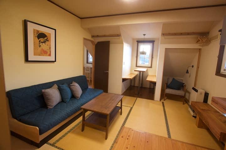 Nozawa 1 bedroom studio apartment