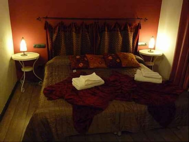Habitación Doble en Masia Tinet