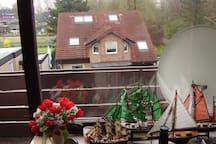 Dreizimmerwohnung mit Balkon