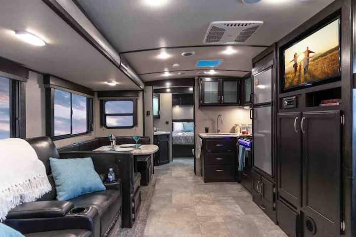 Luxury RV in town