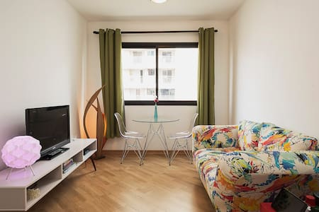 We decided to share with other travellers the apartment we have decorated with all dedication. We believe you are going to love it. BTW, the location is incredible, near Av. Paulista, in a very calm street a block from R. Frei Caneca - The gay street