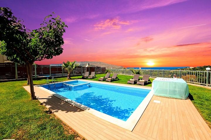 Sunlight Maxima Villa Private Pools 24 guests