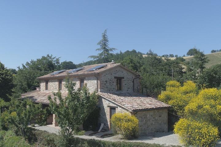 Appartement moderne à Pennabilli, proche d'une forêt