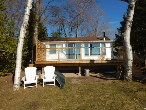 Bright 2 Bdrm Waterfront Cottage on Georgian Bay