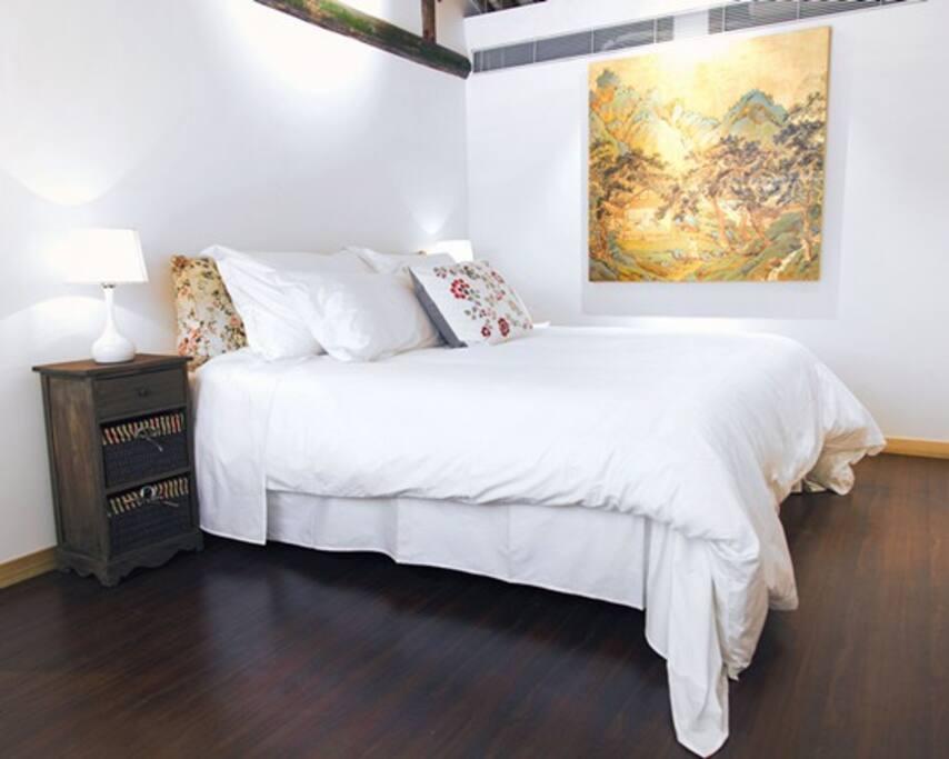 1.8米的舒适大床