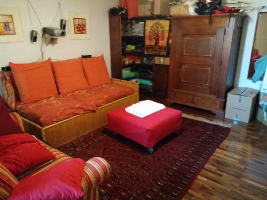La stanza.