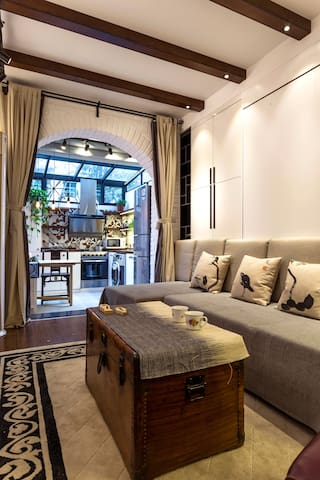 Beautiful, Cozy Studio Apt in FFC - Shanghai - Appartement