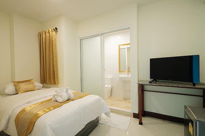 Private single bed no window ส่วนตัวเตียงเดี่ยว