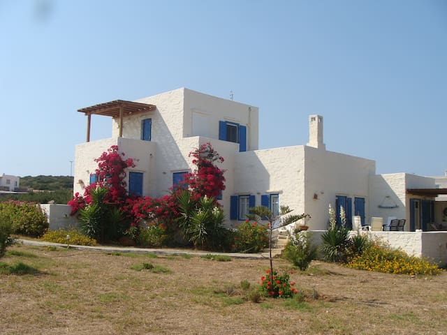 Two apartments Villa in Santa Maria Paros - Santa Maria - Casa
