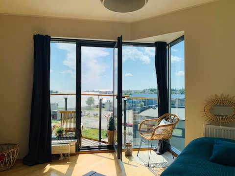 Seaview studio apartment in the heart of Pärnu
