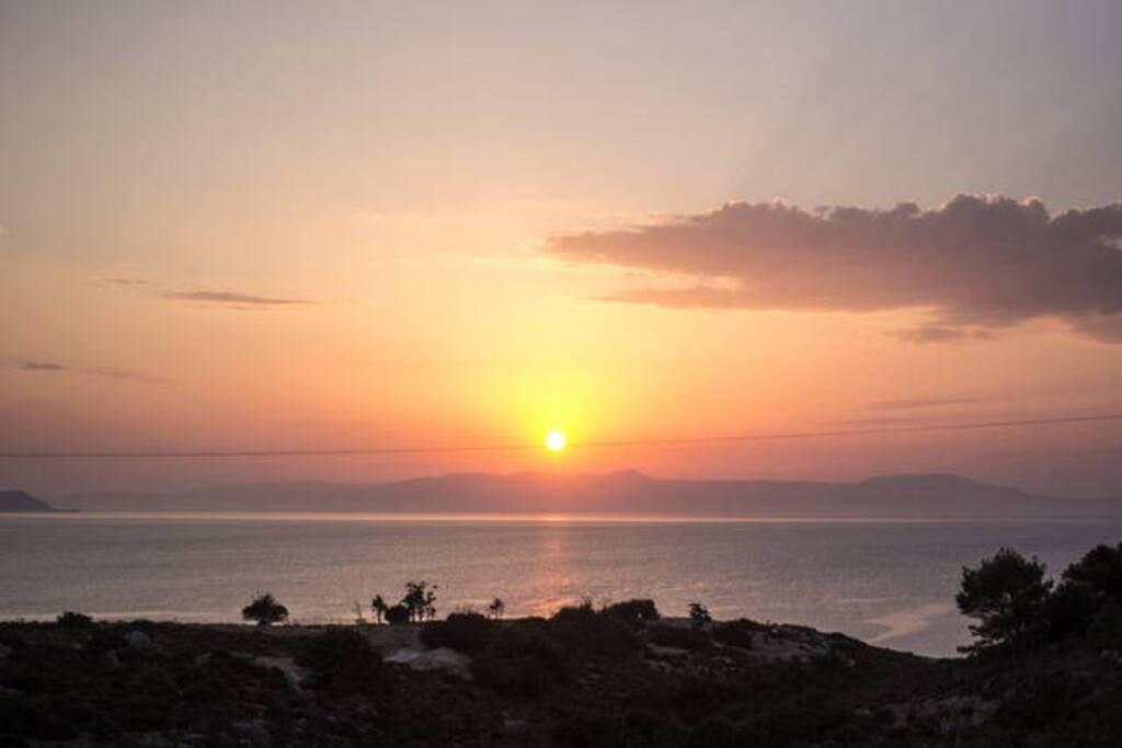 Best view of the Akrotiri