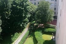 Vue Studio sur Jardin