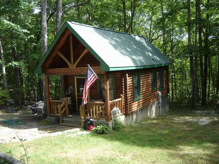 Ranger's Retreat cabin at Big South Fork