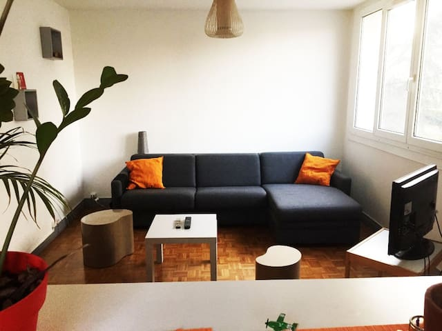 Studio Cosy - Calme - Lumineux - Porte de Paris - Maisons-Alfort - Leilighet