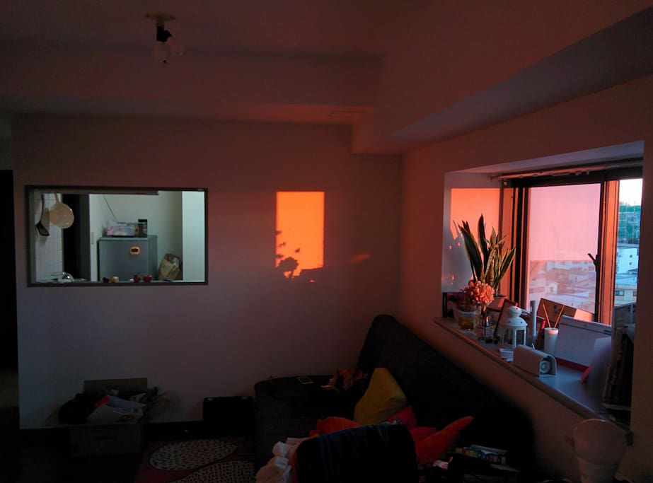 Living room with Sunrise