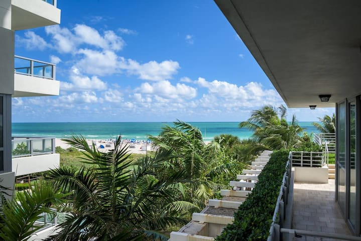 5star Bentley Hilton/1 Bed+Balcny on Ocean Drive