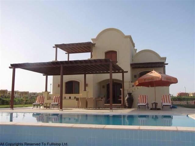 """3 Bedrooms Villa in West Golf - El- Gouna """"S"""""""