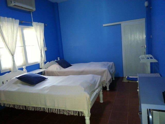 smile home (Blue Room) - Tambon Nai Mueang