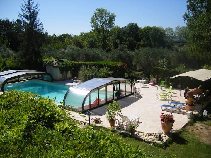 Villa with 3 bedrooms in Pouzols, with private pool, enclosed garden and WiFi