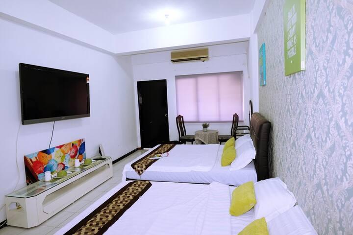 studio apartment@ kota kinabalu city-4pax