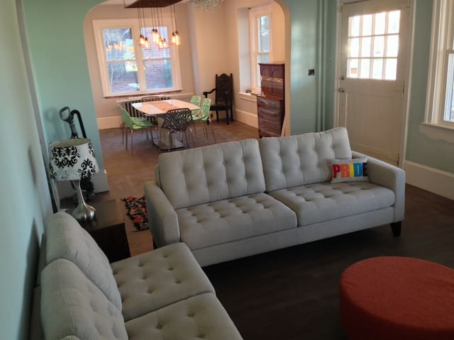NEW BEACH HOUSE- 2 Blocks to the Beach - Asbury Park - Haus