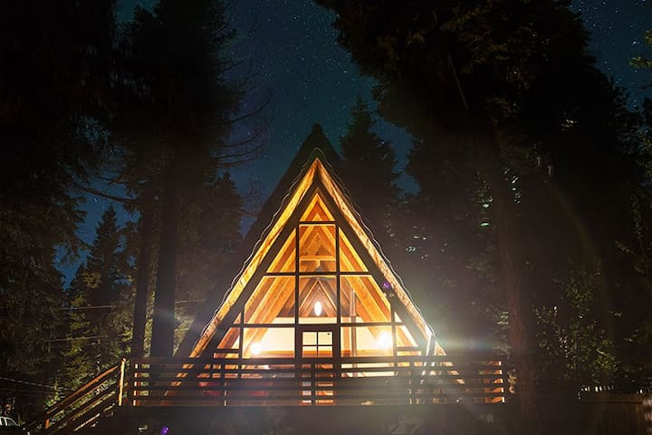 Revamped Midcentury Modern A-Frame - SUPER CLEAN