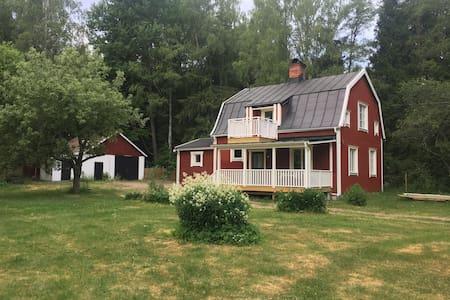 Mysig villa på landsbygden utanför Månkarbo