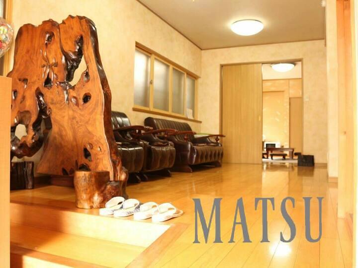 ★MATSU★Nagoya Castle★50min to airport★House Wi-Fi★