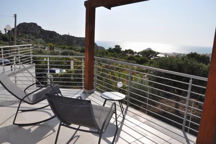 Villa panoramica - Baia di Mollarella (Licata)