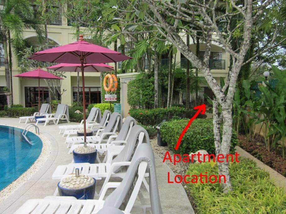 Apartment Lage -  Apartment Location