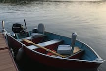 12' boat with 9.9HP 4 stroke motor for rent daily/weekly! $50 per day / $250 per week