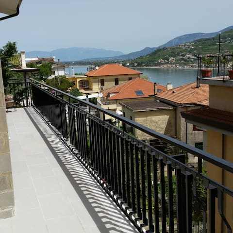 Large apartment with panoramic view - Agropoli - Apartemen