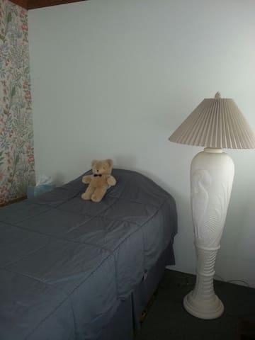 Cozy one bedroom.