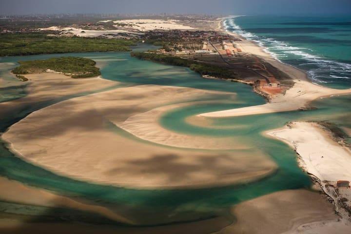 casa de praia defronte ao mar local parasidíaco