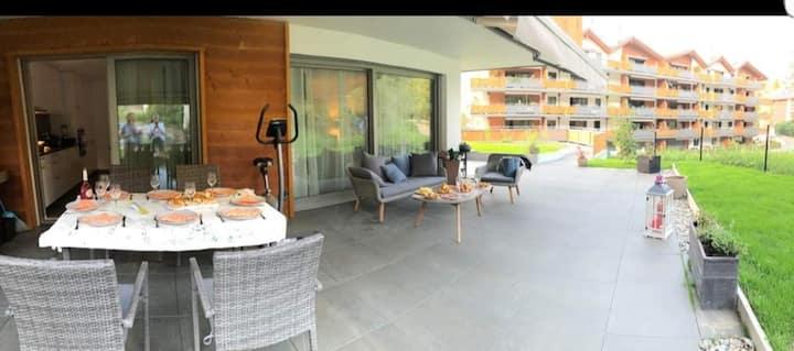 apartement intier en residence   calme assuré