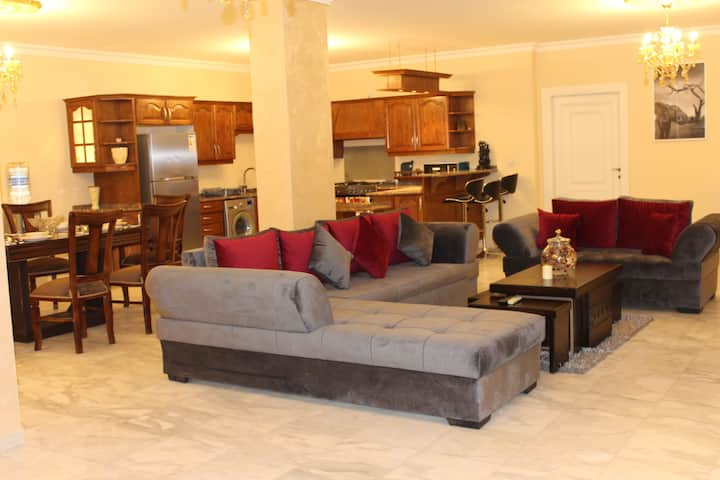 Spacious & cozy in Amman's most secure district