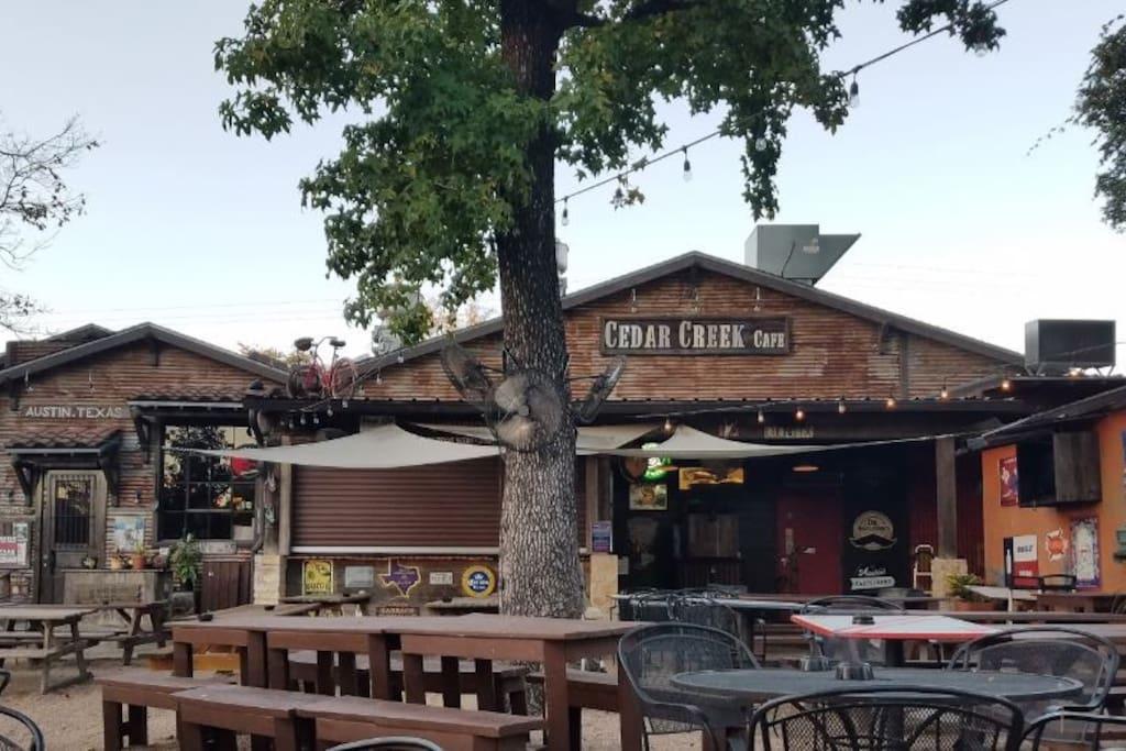 Hit some neighborhood cafes and bars