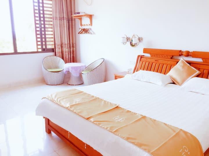 湄洲岛雅致海景大床房