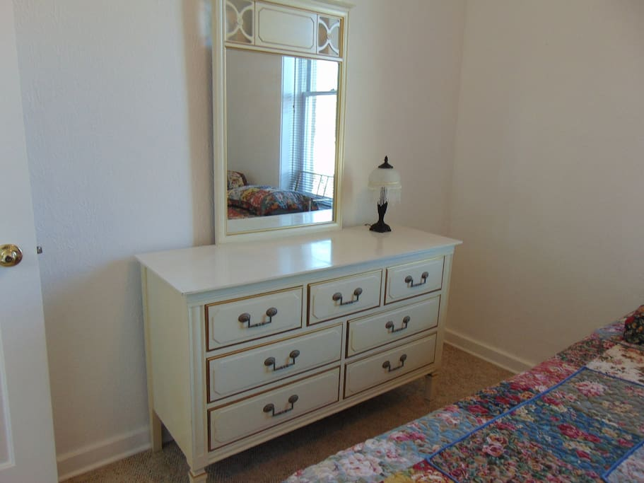 Dresser in bedroom #2.  (Two twin beds in this bedroom).