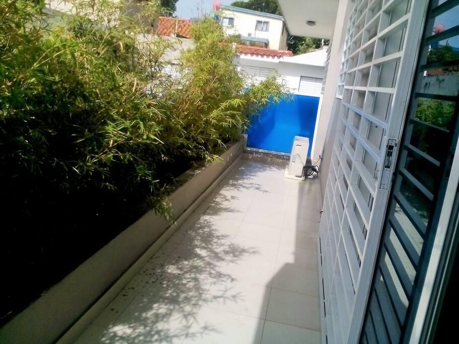 Balcon de la propiedad