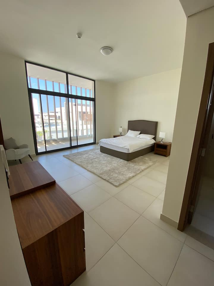 Private huge master bedroom with big balcony